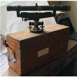 Vintage Surveyors Level  (120069)