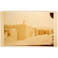 Santa Fe, NM Mounted Photograph  (91063)