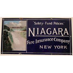 Niagra Insurance Company Sign  (118284)