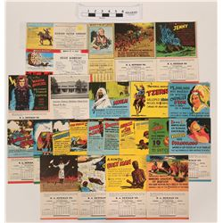 Vintage Ripley's Believe It Or Not Ephemera Calendars Blotters  (118863)