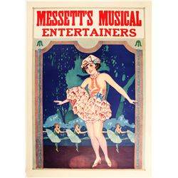 Messett's Musical Lithograph  (78976)