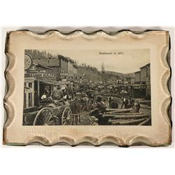 Deadwood, 1876 Scene with Chipped Glass Frame/Cover  (118189)
