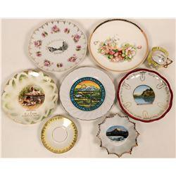 Souvenir plates from Washington State  (115206)