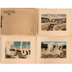 Historic Book of Photographs Yellowstone National Park by Haynes, Inc.  (117486)