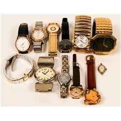 Vintage Men's Women's Wristwatches   (117335)