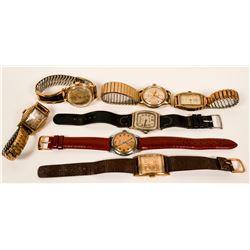 Vintage Men's Wristwatches  (117328)