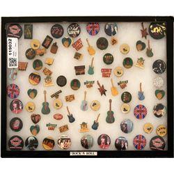 Rock Band Pin Backs  (119032)