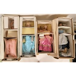 Tall 1980s Doll Group, in Original Boxes  (118274)