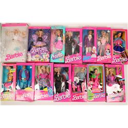 Barbie Doll Collection and Accessories  (118024)