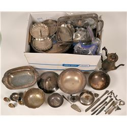 Silver Plate Serving Group  (117071)