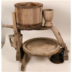 Antique wine press  (117077)