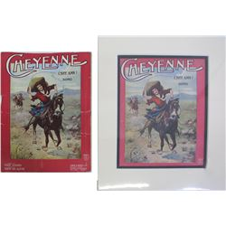 Artistic Covers on Sheet Music  (86419)