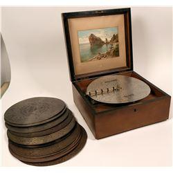 Kalliope music box 13 inch model  (116742)