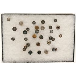 Blue Jean Button Collection (30)  (88562)