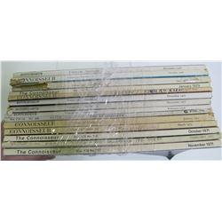 Connoisseur Magazine Collection (14)  (89318)
