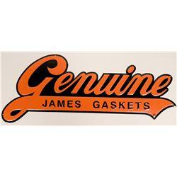 Genuine James Gaskets Metal Sign Harley-Davidson Registered Trademark Licensed Product  (116896)