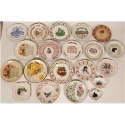 Group Souvenir Plates  (119542)