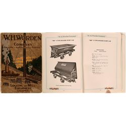 Worden Co. Logging & Mill Equipment Catalog  (119580)