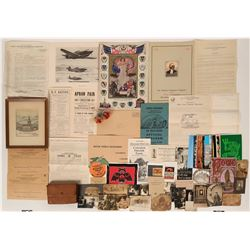 Miscellaneous Ephemera from the 1800s-1900s  (118879)