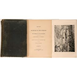 Report of the Secretary of the Interior, Vol. 4 of 6.  (119493)