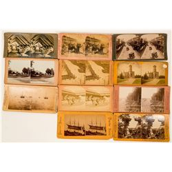 Stereoscope and Stereo Cards  (117293)