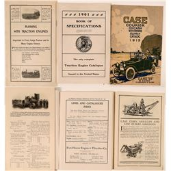 Steam Farm Machinery Catalogs (3)  (119604)