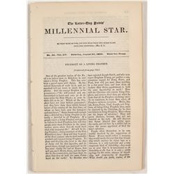 Three Issues of the Millennial Star,  (81415)