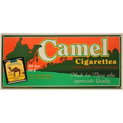 Vintage Camel Cigarettes Metal Advertising Sign   (116890)