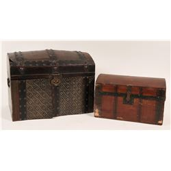 Vintage Small Trunks (Chests) (2)  (119618)