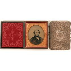 Sterling Card Case & Tintype  (118244)