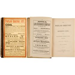 The Portland Directory and Reference Book, 1871  (82806)