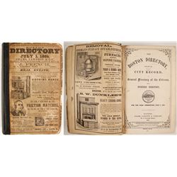 The Boston Directory, 1865  (82825)