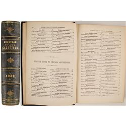 Michigan State Gazetteer and Business Directory for 1863--4  (82832)