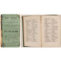 Pierson's Newark City Directory for 1857-8, v23  (82849)