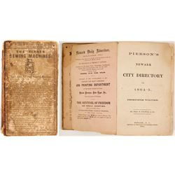 Pierson's Newark City Directory for 1864-5, v30  (82846)