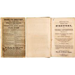 Brooklyn Directory for 1845 & 6  (82865)