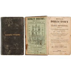 Brooklyn Directory and Yearly Advertiser for 1847-8  (82863)
