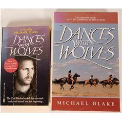 """Dances With Wolves"" Autographed Books  (119635)"