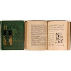Clemens - Adventures of Huckleberry Finn - Tom Sawyer's Companion, 1885 Edition  (117936)
