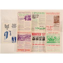 Zane Grey print add-boards  (120224)