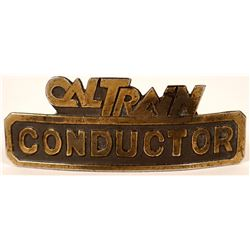 CalTrain Conductor Cap Badge  (113277)