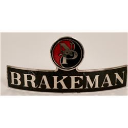 Northern Pacific Brakeman Cap Badge  (113285)