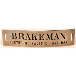 Northern Pacific Railway Brakeman Cap Badge  (107899)
