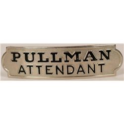 Pullman Attendant Cap Badge  (113274)