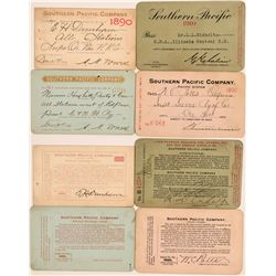 Southern Pacific Railroad Annual Passes  (113316)