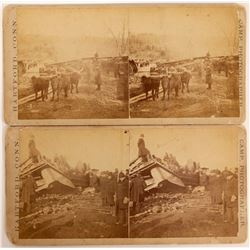 Stereoviews of Train Wreck  (117284)