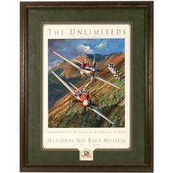 The Unlimited, print by John Shaw - National Air Race Museum  (114391)