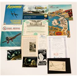 Early Aviation History and the roster for the Early Birds of Aviation Club  (115238)