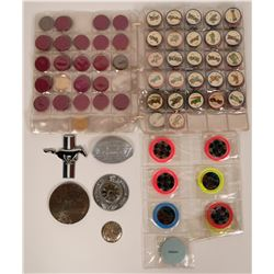Automobile Themed Buttons  (118128)