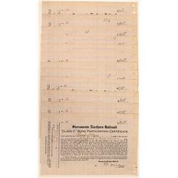 Sacramento Northern RR Bonds  (117216)